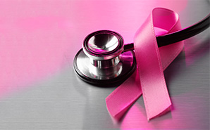 Stethoscope and Pink Ribbon