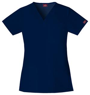 dickies-navy-scrubs-top