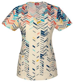 dickies-printed-scrubs-top