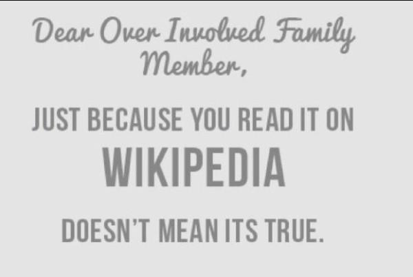 Over Involved Family member