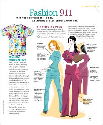 Fashion 911 Scrubs The Leading Lifestyle Nursing Magazine Featuring Inspirational And