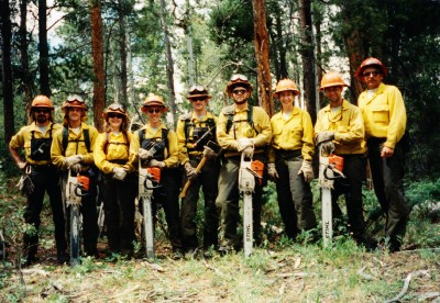 Fire Line- Grand Teton National Park 1999.