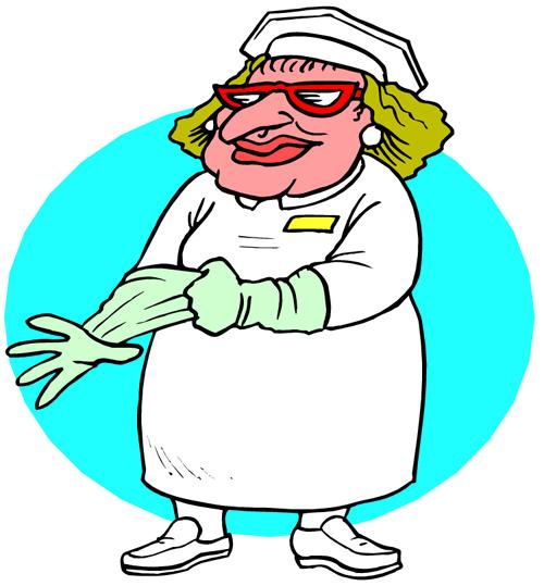 clip art funny nurses - photo #2