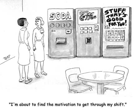 Nurse Cartoons Break Room Choices Scrubs The Leading