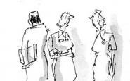 Nurse cartoons – the new consultant