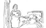 Nurse cartoons – forgotten spoon