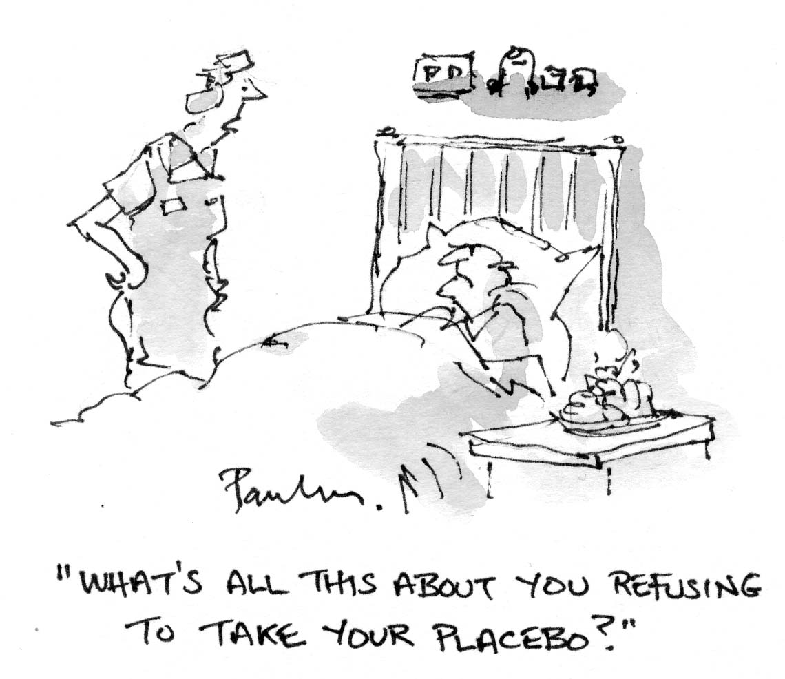 Nurse Cartoons Refusing Placebo Scrubs The Leading