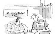 Nurse cartoons – trust me, I'm a writer