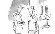 Nurse cartoons – his bromide's wearing off