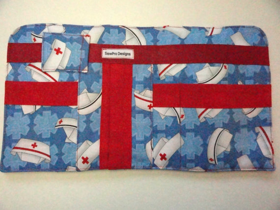 Sew Pro Designs - nurse themed car visor