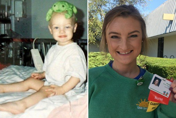 Childhood Cancer Survivor Returns To Hospital As Nurse More Than 20 Years Later