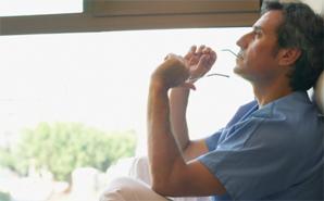 male-nurse-thinking