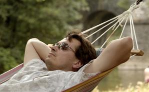 man-in-hammock