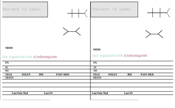 Nurse Brain Sheets - MedSurg