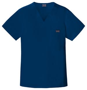 men's cherokee dark blue v-neck