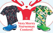 Enter to win the Very Merry Nursemas giveaway!