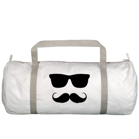 mustache-gym-bags