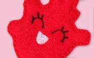 Nurse bling: Cardiac nurse badge reel