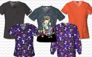 5 scrubs we love for Halloween!
