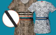 Nurse bling: Mixing 'n' matching prints