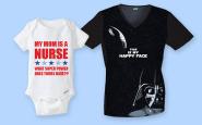 Nurse bling: A cute baby onesie for expecting nurses