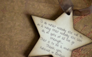 Nurse bling: Personalized wooden ornament