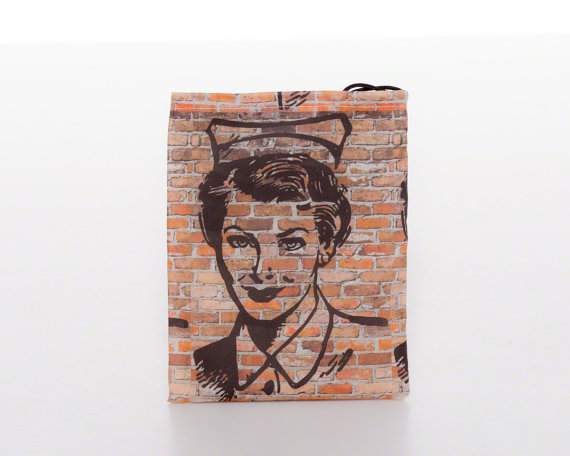 nurse graffiti bag