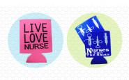 Nurse bling : 3 nurse-themed koozies