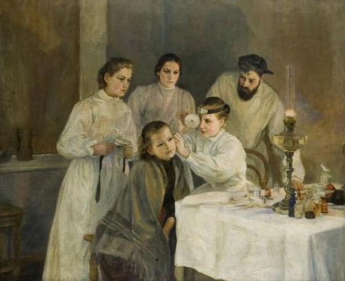 nurse-painting