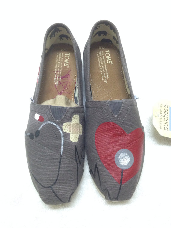 nurse themed toms