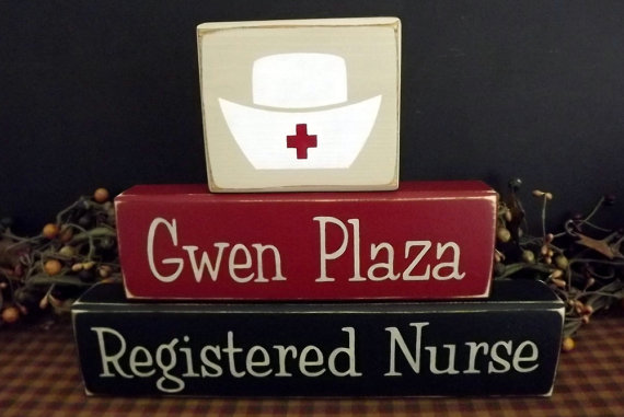 nurse wood blocks