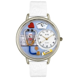 You can win this adorable nurse watch at scrubsmag.com.