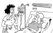 Nurse cartoons – Fat free