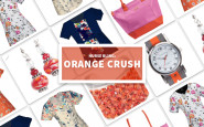 Nurse bling: Orange crush