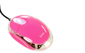 pink-computer-mouse