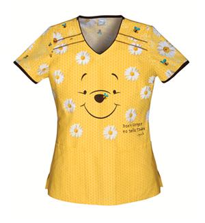 pooh scrubs tops
