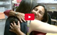 Video: Nurse reunited with the preemie she helped save…28 years later