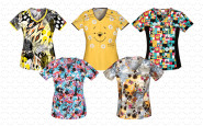 5 more printed summer scrubs tops for summer 2014