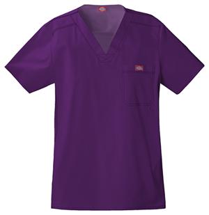 purple-mens-scrubs-top