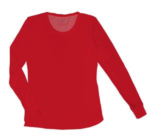 red-under-shirt
