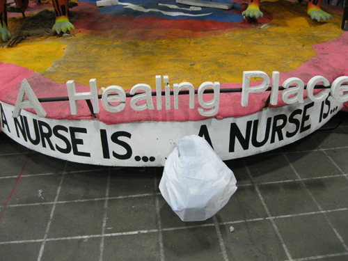 Check Out The First Ever Nurses Float In The Rose Parade