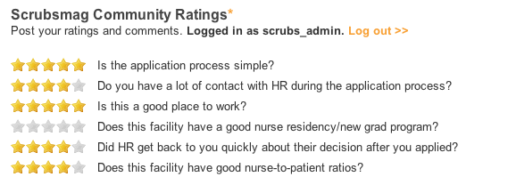Queen of the Valley Hospital Ratings