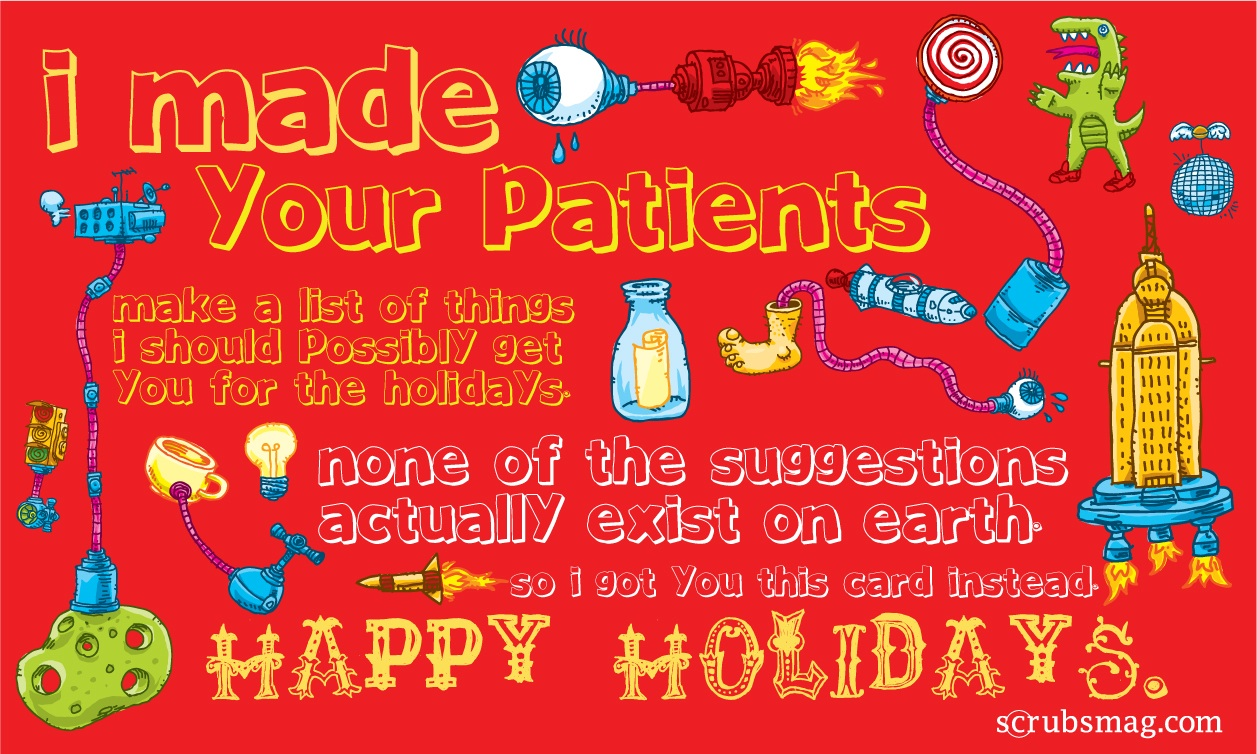 8 Hilarious Last Minute Holiday Cards For Nurses Page 5 Of 8
