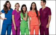 Scrubs Chic: Color me stylish!