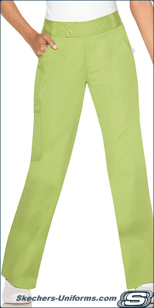 skechers uniforms faux trousers