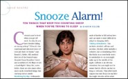 Snooze alarm!