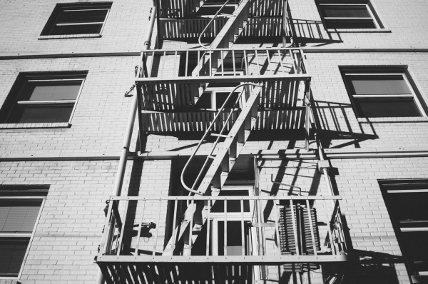 stairs-black-and-white-fire-escape-fire-ladder