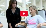 A student nurse's inspirational story