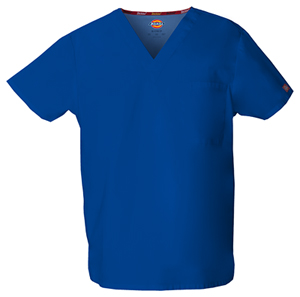 unisex blue top