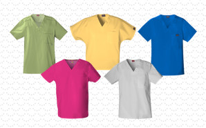 unisex-scrubs-shirts-collage